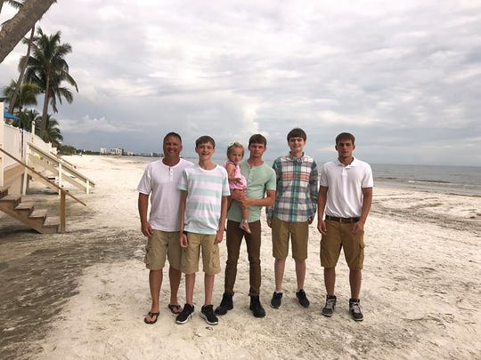 Angela Seldal, an Illinois resident and mother of five, said she travels to Florida every year for its gulf waters. It was the family's first day at their rental house on a beach in Estero that they noticed the water was brown and the air was making them cough, Seldal said.