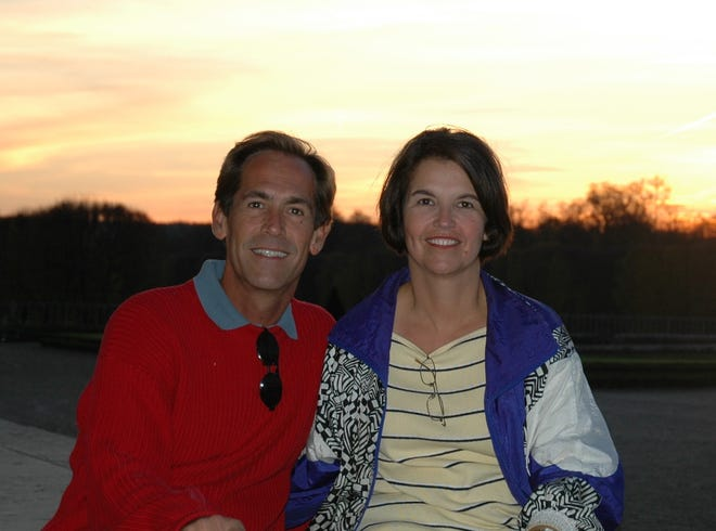 Suzie Foley and her brother, Jim Sturdy
