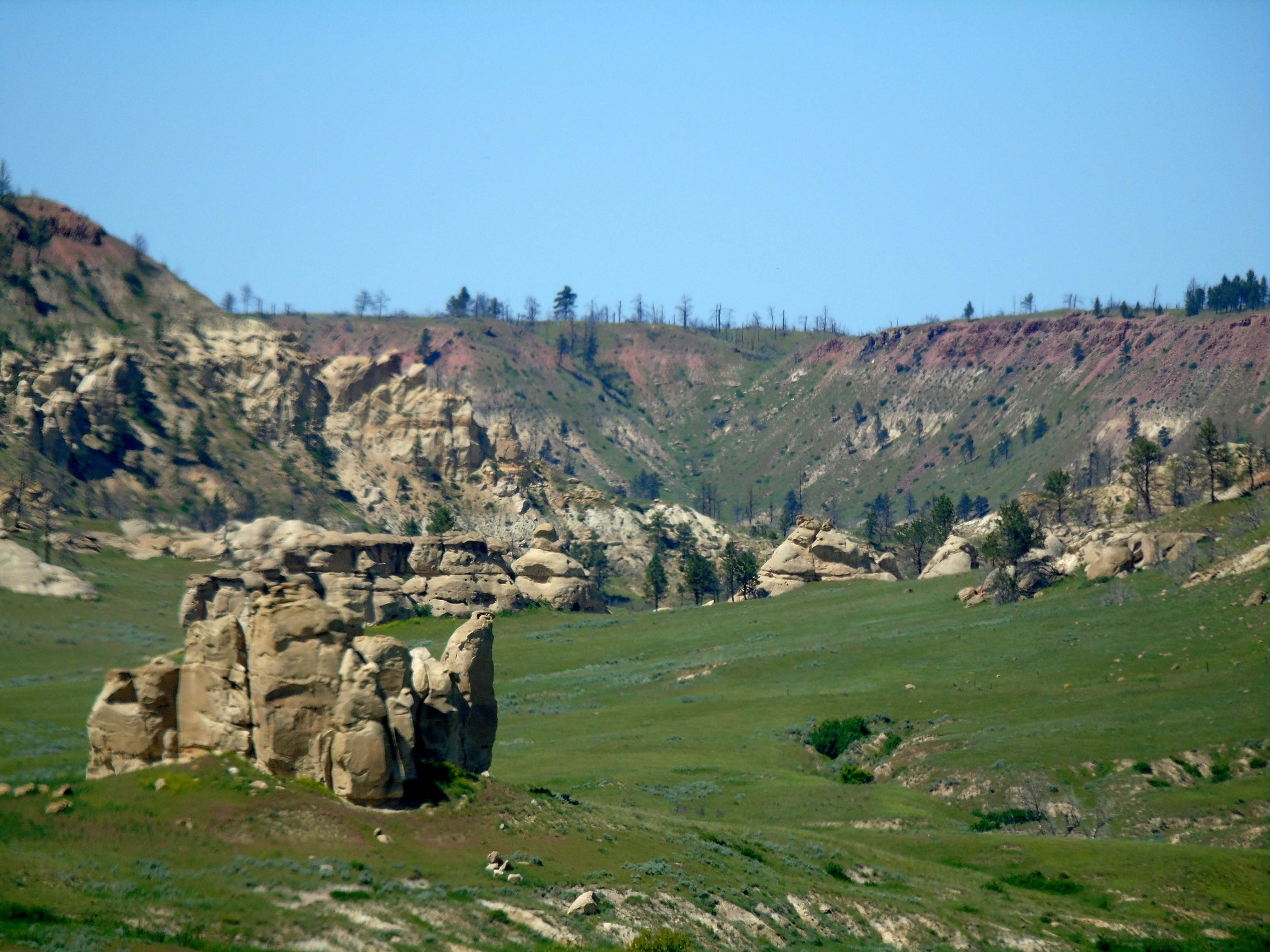 Deer Medicine Rocks north of Lame Deer