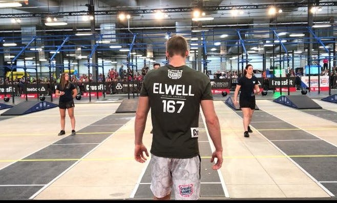 Guam's Ethan Elwell competes at the Reebok CrossFit Games in Madison, Wisconsin. Only the top 20 in each age group were invited to participate. Elwell ranked No. 7 out in the 16 to 17 age group for boys coming into the event. After the first three competitions of five total, Elwell stands in second place overall.