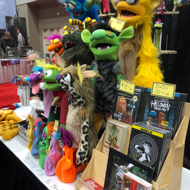 Puppets at Gen Con? This sort of non-gaming thing isn't at all unusual, as it turns out.