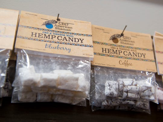CBD American Shaman offers hemp candy.