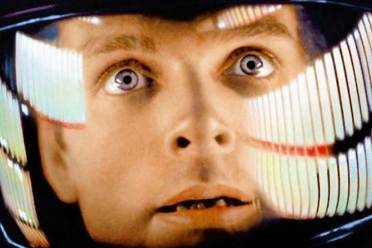 "Your eyes may bug like Keir Dullea's when you see ""2001: A Space Odyssey"" in IMAX at the Paradiso."