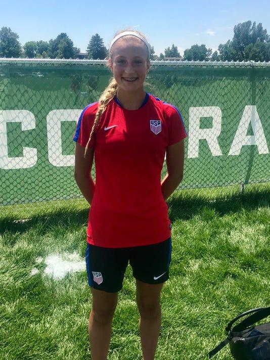 Avery Clark U S U14 National Team