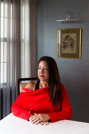 "Amal Bernal at her home in North Naples on Wednesday, Aug. 1, 2018. Bernal's ex-husband abused her physically, emotionally and financially for 20 years. Financial abuse, defined as ""coercive control"" by the Centers for Disease Control and Prevention, is often the unseen and debilitating perpetuation of all other types of abuse. ""To me, it's just as bad as any other kind of abuse because it's how they control you,"" Bernal said."