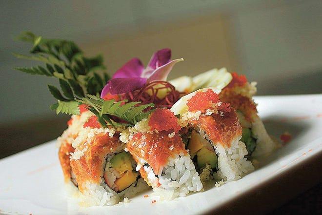 Tani in Glen Rock.  Spicy girl sushi roll.