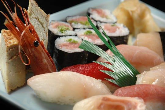 Sushi Special at the Sakura-Bana sushi restaurant in Ridgewood.