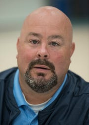Livonia Stevenson Head Coach Randy Micallef.