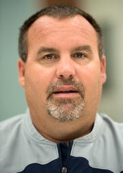 Hartland Head Coach Brian Savage