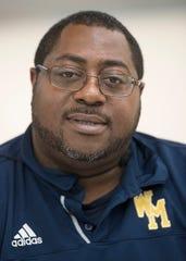 Wayne Memorial Defensive Coordinator Derrick McGee