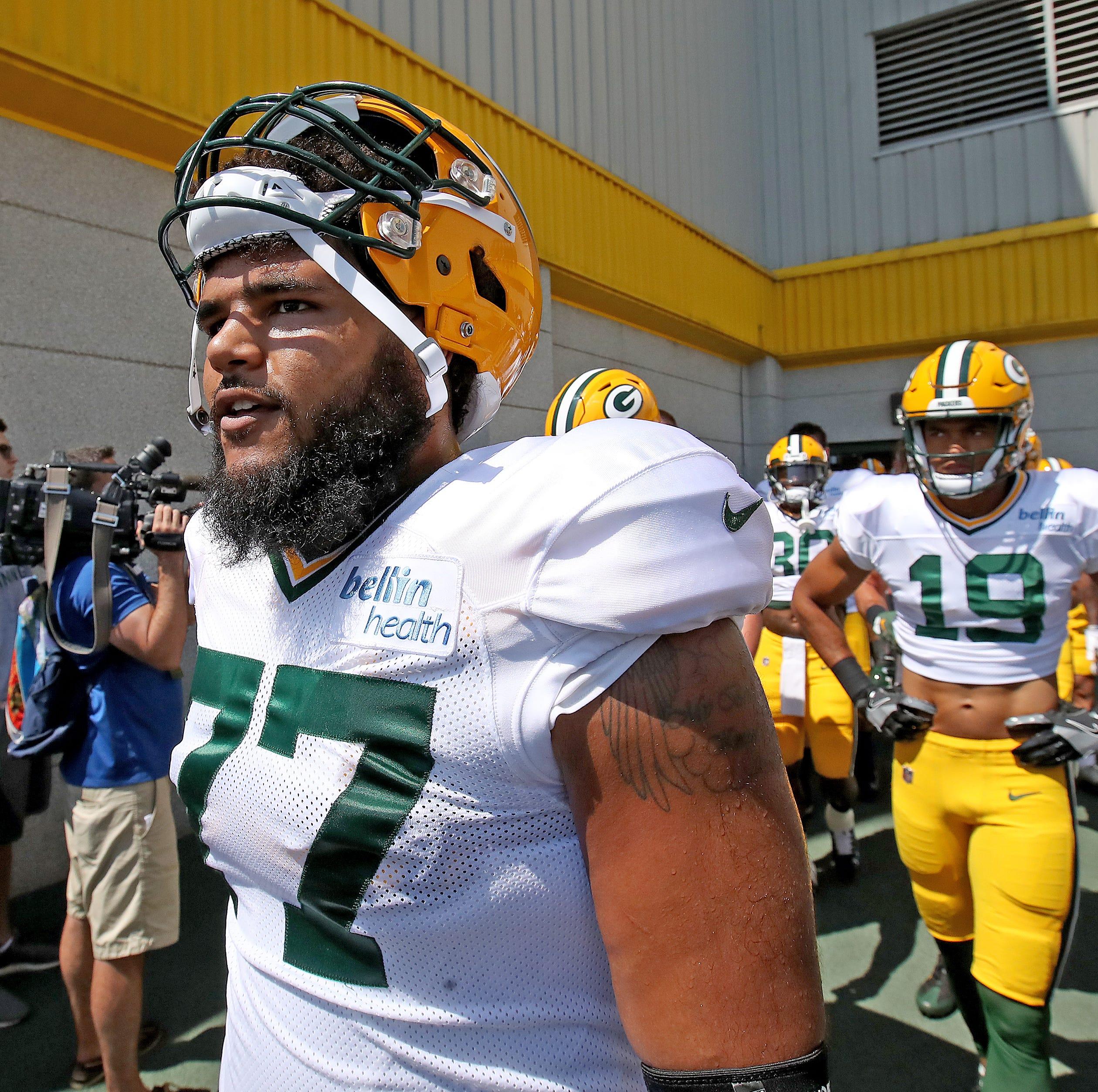 Packers Camp Insider: Versatility boosting Adam Pankey's bid for key role