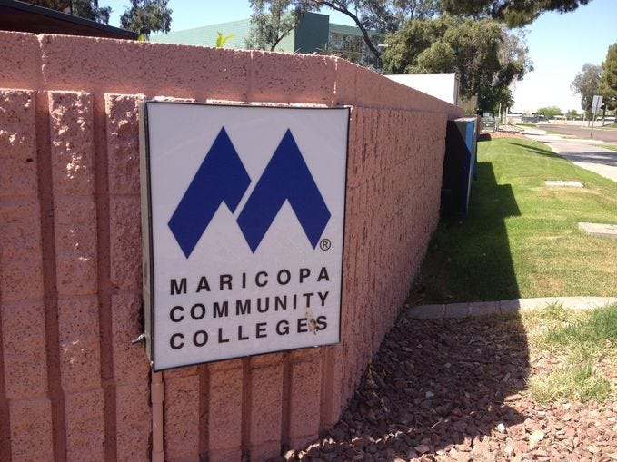 Maricopa Community Colleges, hiring 180. The school system has openings ranging from systems administrator to student-services specialist. More info: careers.maricopa.edu.