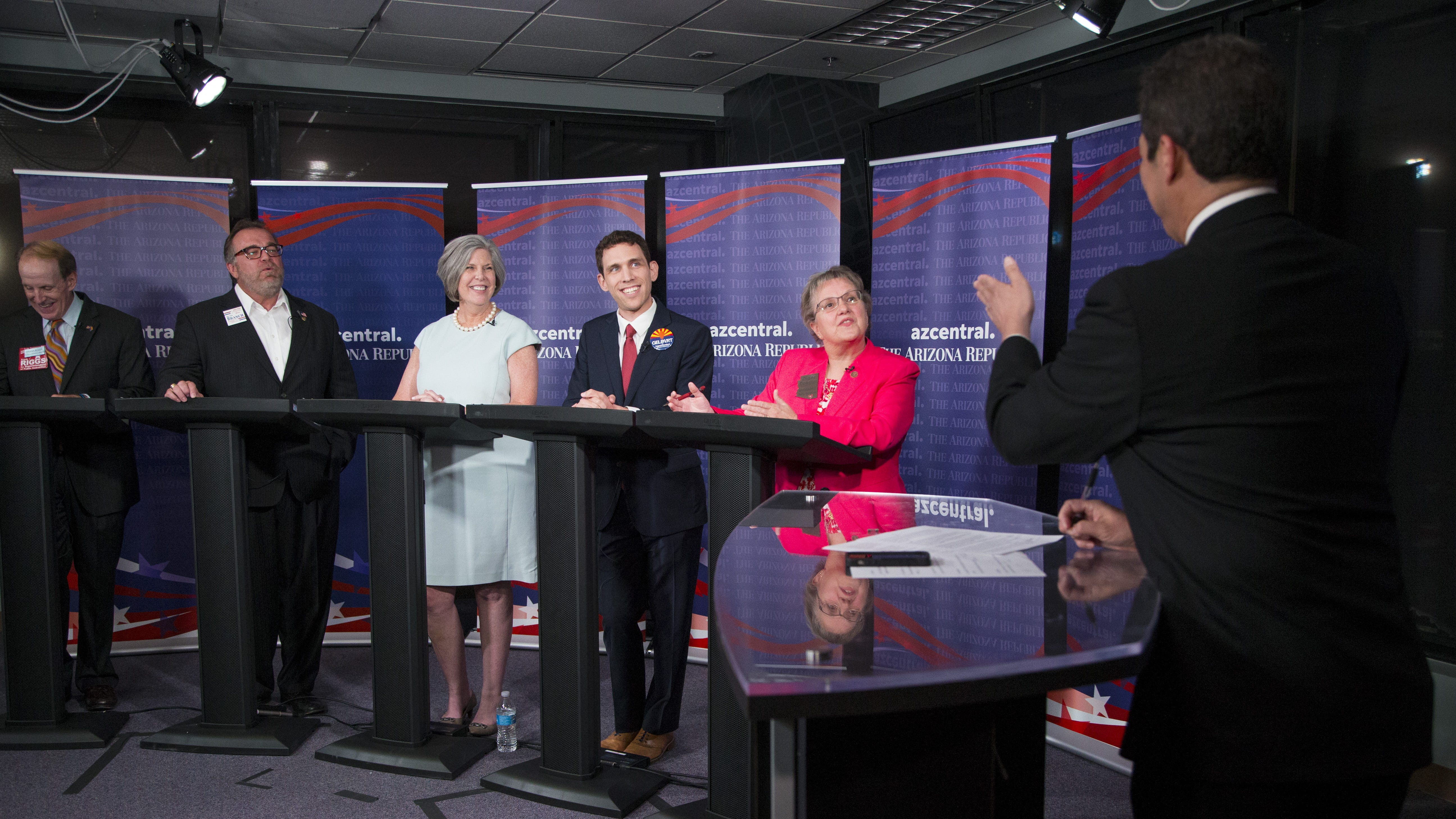 GOP candidates for Arizona's top schools post debate taxes, vouchers