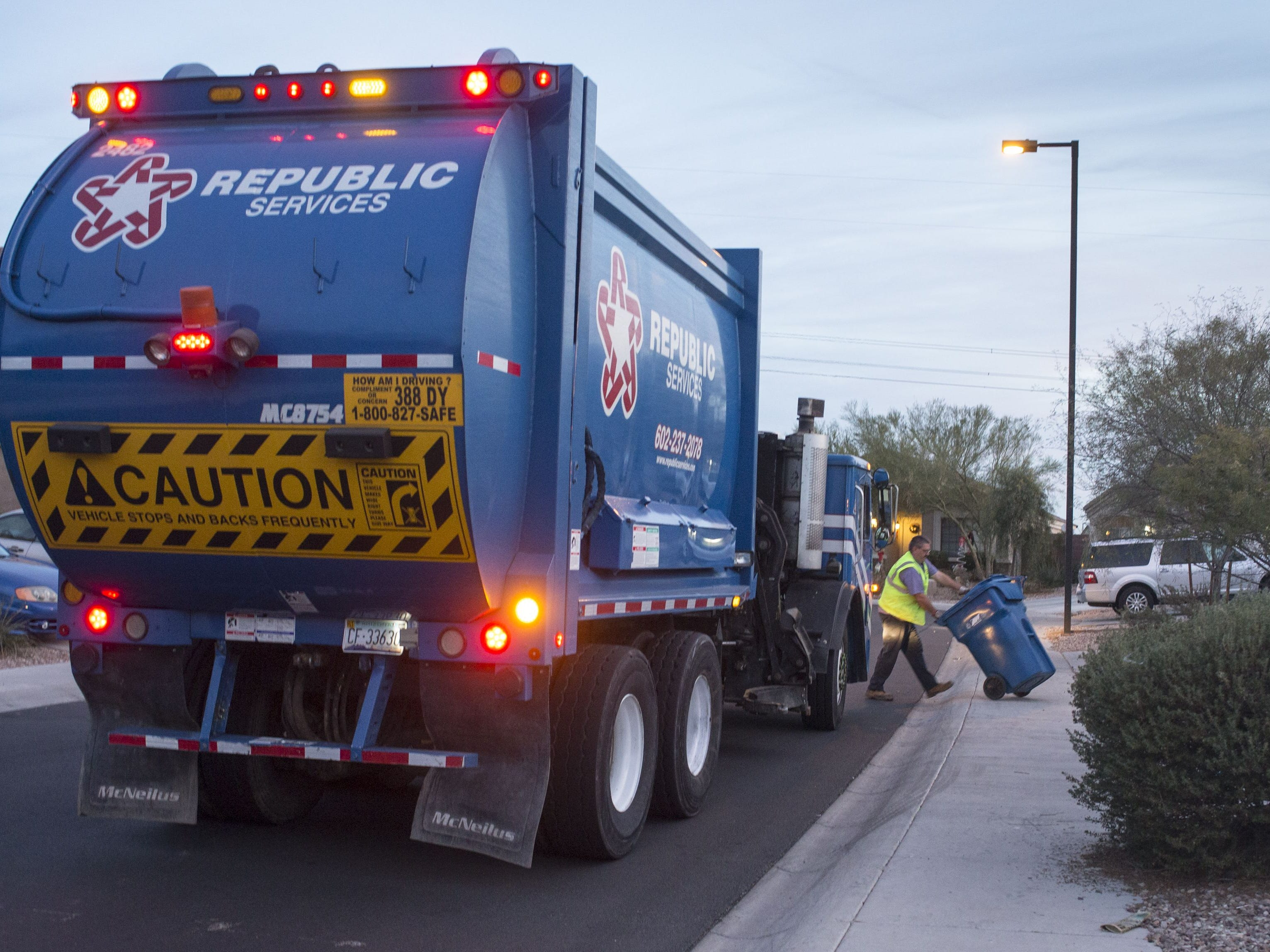 Republic Services Inc., hiring 160. The garbage collection company is filling positions ranging from drivers to analysts. More info: republicservices.jobs.