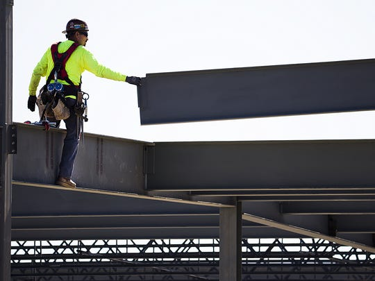 Construction, still recovering from the housing slump of the past decade, is projected to grow at the fastest clip among major sectors, at 3 percent over the next several years in Arizona, a study suggests.