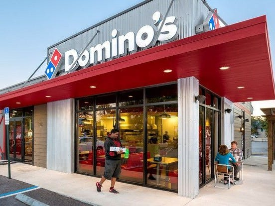Domino's,hiring 380. The pizza delivery company is hiring drivers, customer service representatives and managers.More info:jobs.dominos.com/dominos-careers.