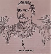 A. Nevin Pomeroy in 1890, owner of the Franklin Repository.