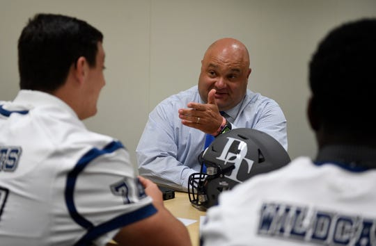 Dallastown head coach Ron Miller will lead his Wildcats against defending District 3 Class 6-A champion Manheim Township on Friday. DISPATCH FILE PHOTO