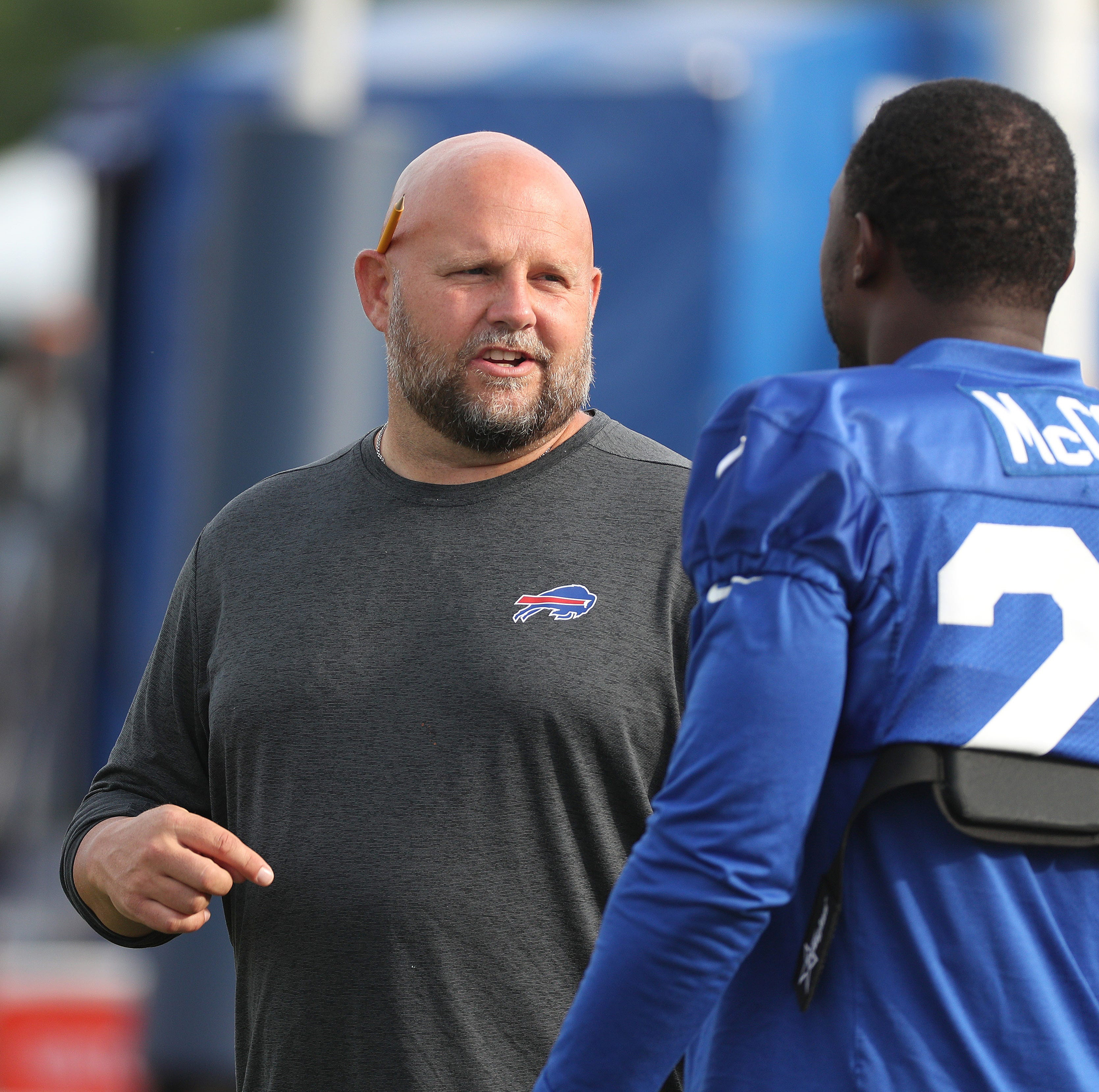 Buffalo Bills quarterback competition: Coaches continue to stick to plan