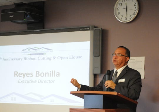 Reyes Bonilla discusses the work of Community Homeless Solutions, of which he is the executive director.