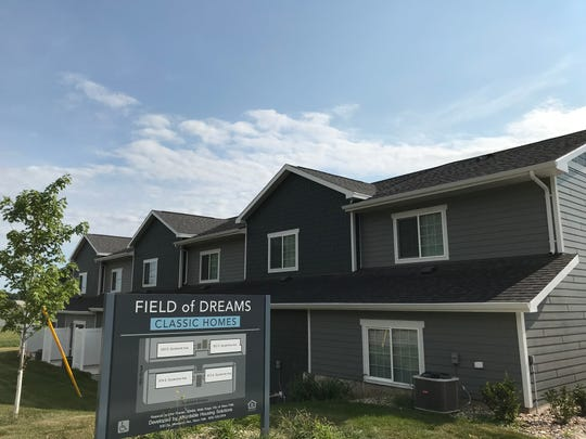 Field of Dreams town homes are on the market and available for as low as $145,000 to low-income buyer. The 26-unit community is located near 15th Street and Sycamore Avenue.