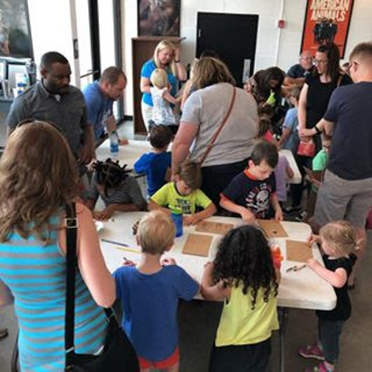 Activities are age-appropriate, but it's not always coloring or making things at Moxie Mornings, said Mike Stevens, executive director.