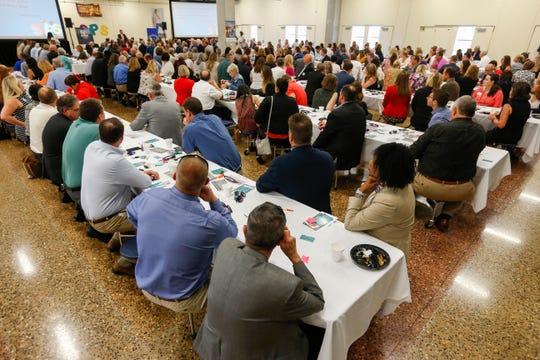 A special edition of Good Morning Springfield that highlighted Springfield Public Schools was held at Hillcrest High School on Thursday, Aug. 2, 2018.