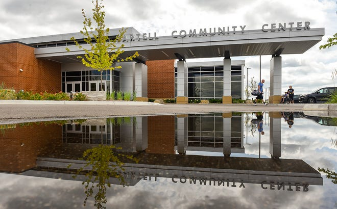 The Sartell Community Center, open for almost a year, is shown Thursday, Aug. 2, at 850-19th St. S.