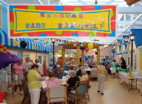 The Kane Carnival is Friday at the Council on Aging of Martin County's Kane Center south of Stuart.