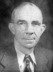 Superintendent, Roscoe Rollins in 1946-47