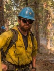 Captain Brian Hughes of the Arrowhead Hotshots during the 2015 Rough Fire