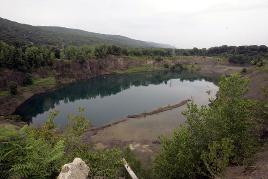 The former Tilcon New York Quarry in Suffern is among the properties Ramapo may sell to eliminate its deficit.