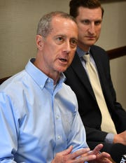 U.S. Congressman Mac Thornberry (R-Clarendon) met with health insurance underwriters Thursday to discuss the healthcare system and the rising cost of health insurance.