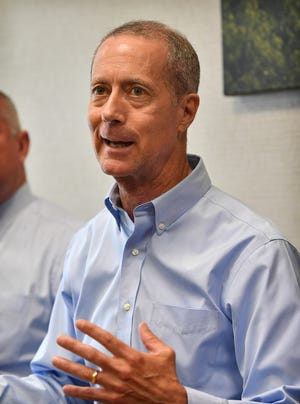 U.S. Congressman Mac Thornberry (R-Clarendon) met with health insurance underwriters in Wichita Falls Thursday to discuss the healthcare system and the rising cost of health insurance.