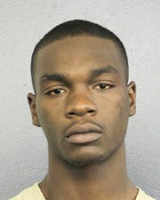 In booking photo from the Broward County Sheriffs Office, Michael Boatwright, 22, a suspect in the shooting of rapper XXXTentacion.