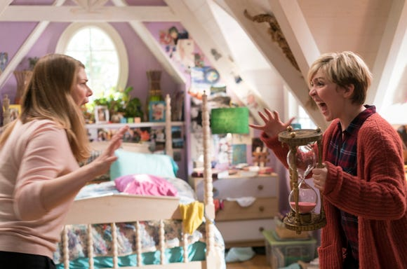 "Cozi Zuehlsdorff (""Dolphin Tale"") and Heidi Blickenstaff (""The Little Mermaid"" and ""Something Rotten!"" on Broadway) star in the Disney Channel Original Movie ""Freaky Friday."""