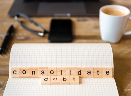 Debt consolidation loans can help reduce the number of bills you juggle, allowing you to make one simple monthly payment.