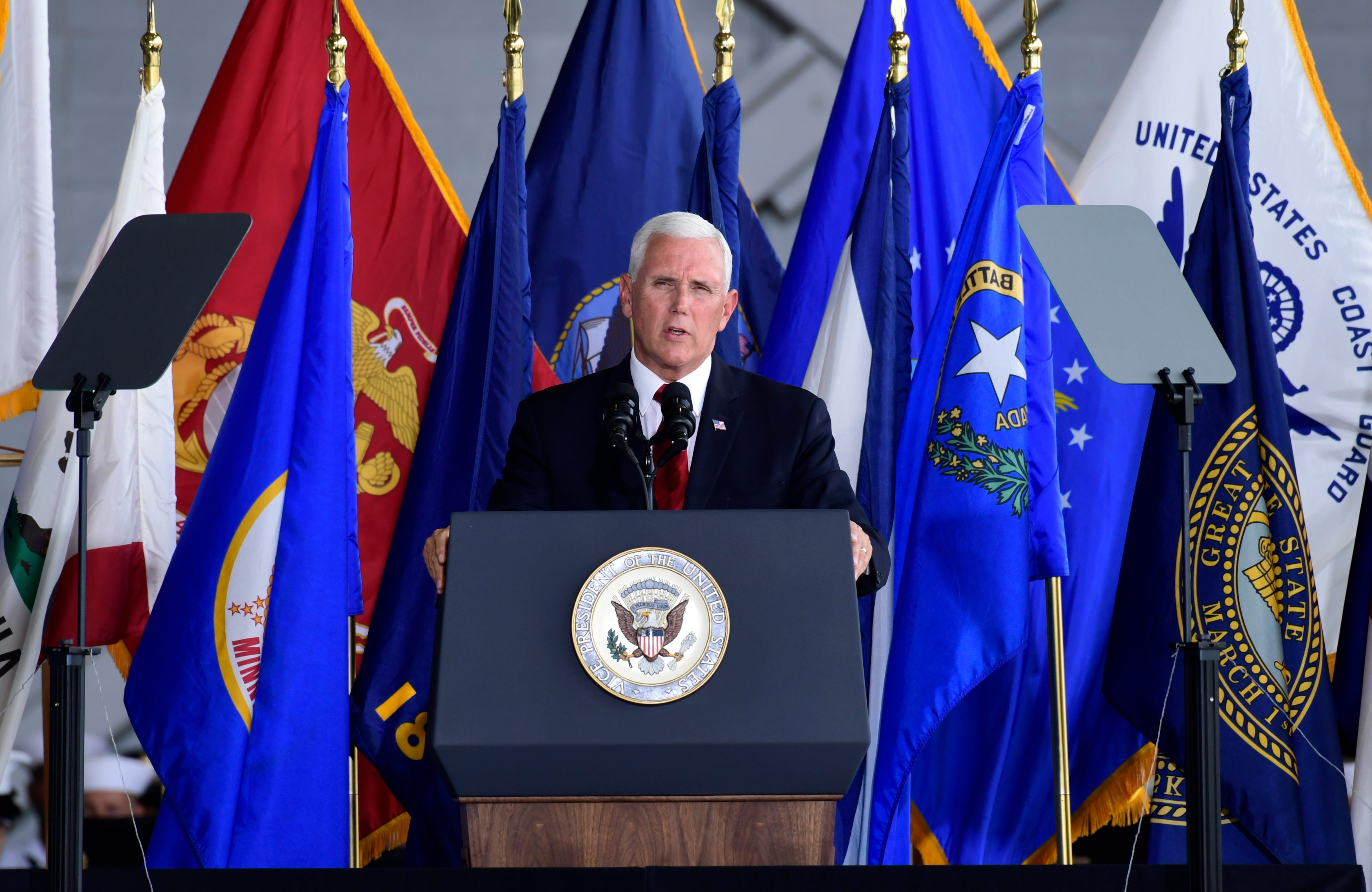 Trump's Space Force launched at Pentagon as a separate armed service