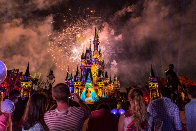 The Happily Ever After show at Disney's Magic Kingdom theme park in Florida has a devoted fan base.
