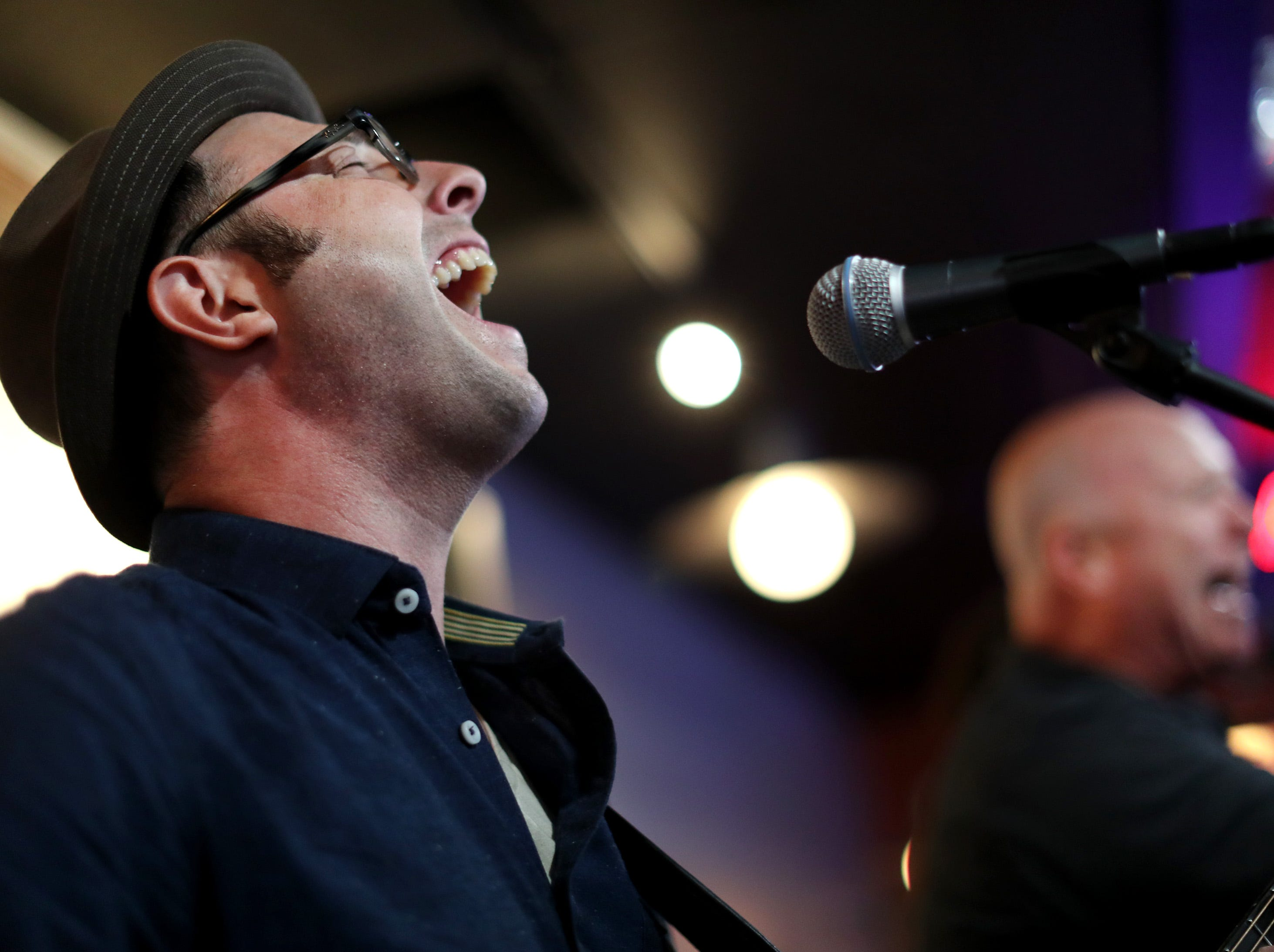 Bascom Hill performs at Bad Badger during the first day of Mile of Music Thursday, Aug. 2, 2018, in Appleton, Wis.Danny Damiani/USA TODAY NETWORK-Wisconsin
