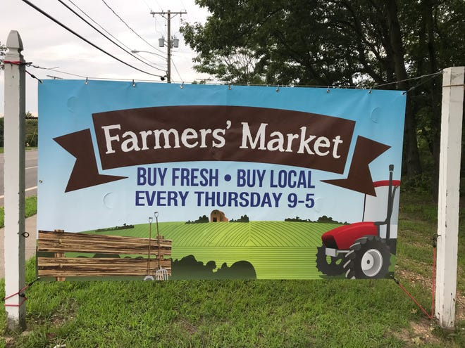 Abundant Grace Church on Indian Head Road in Toms River will host a farmers market on Thursdays.