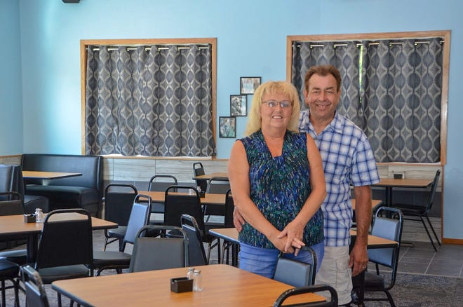 R&R Grill was built right next to Ron's Roofing, at 1089 E. Michigan Ave. The owners of both businesses, Ron and Kay Campbell, plan to open the restaurant on Sept. 3, 2018.