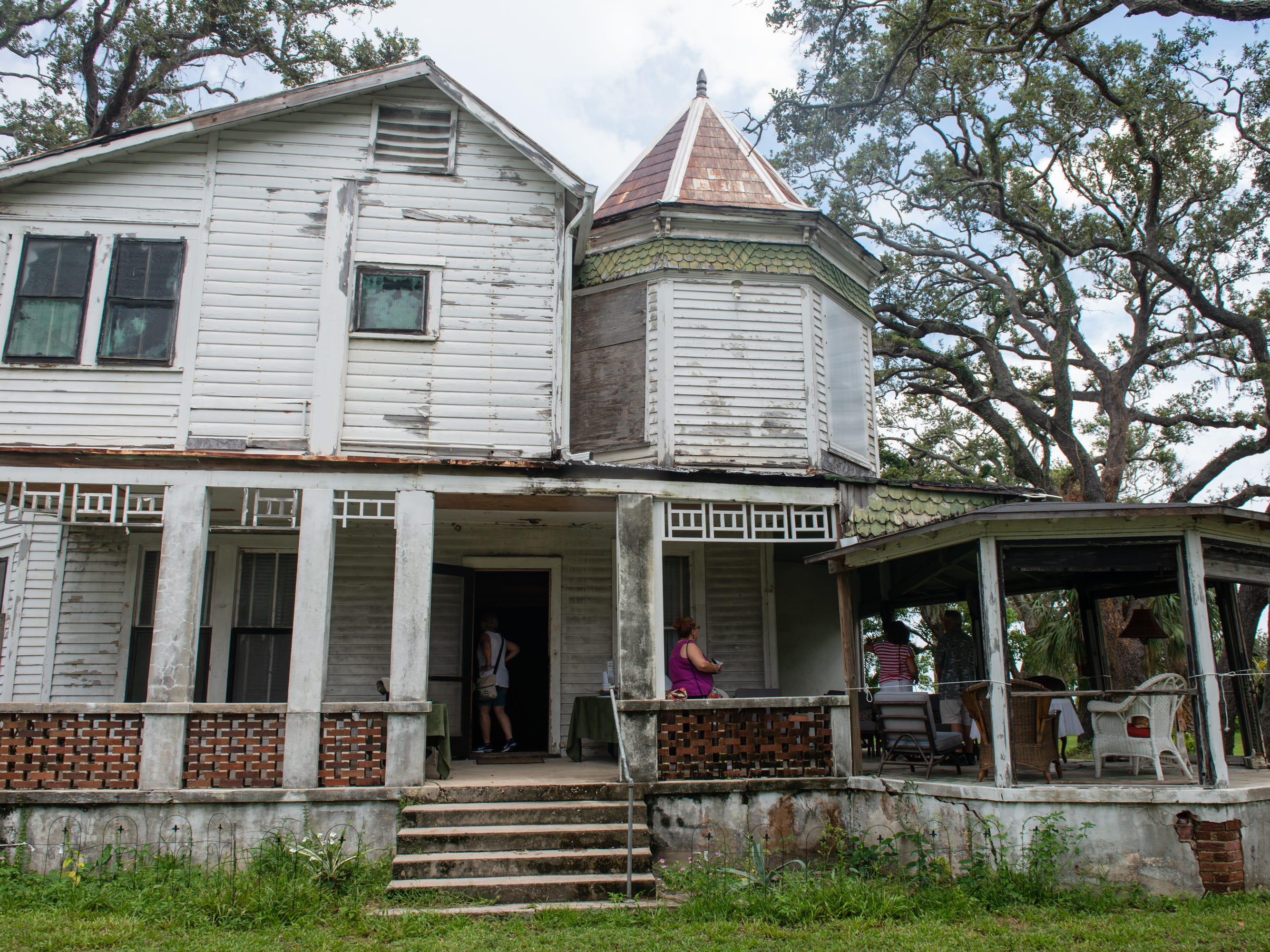 The Christmas in July event, which raised money to restore the Green Gables Victorian house in Melbourne.