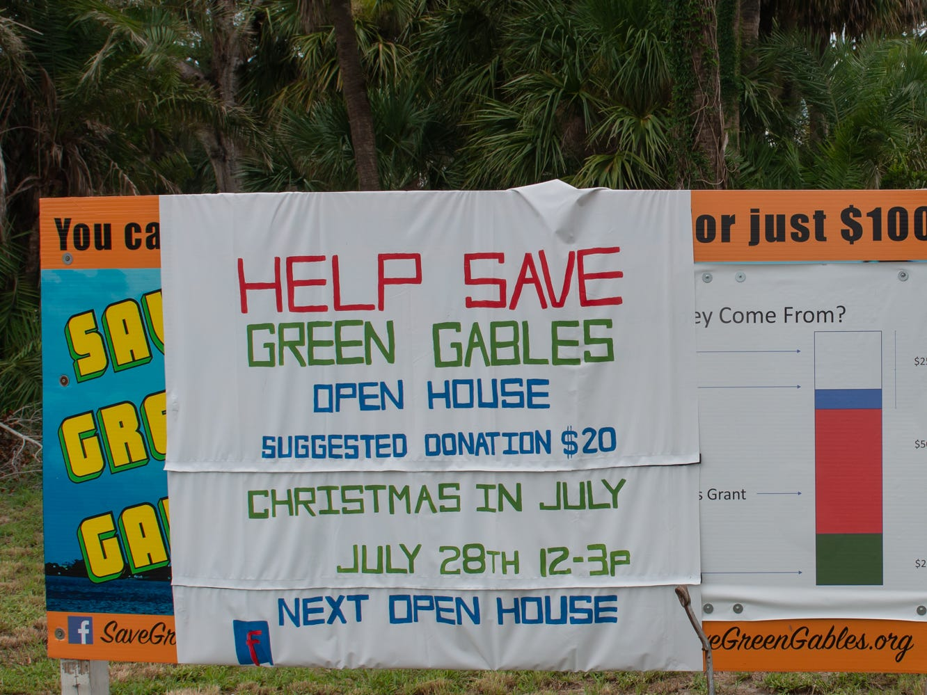 Christmas in July event, which raised money to restore the Green Gables Victorian house in Melbourne.