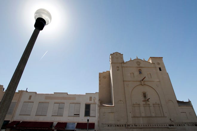 Michael Zamora/Caller-TimesThe Ritz Theater on N. Chaparral Street in downtown Corpus Christi has been included on a list of the 10 most endangered Texas landmarks by the nonprofit group Preservation Texas. (Thursday, March 22, 2012)