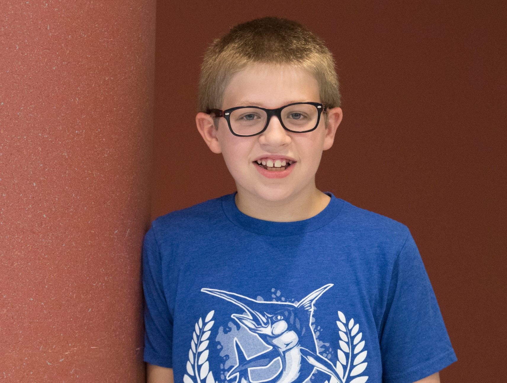Isaac Crawford, 10, Mud Crew. Project: Science Fun with Electricity