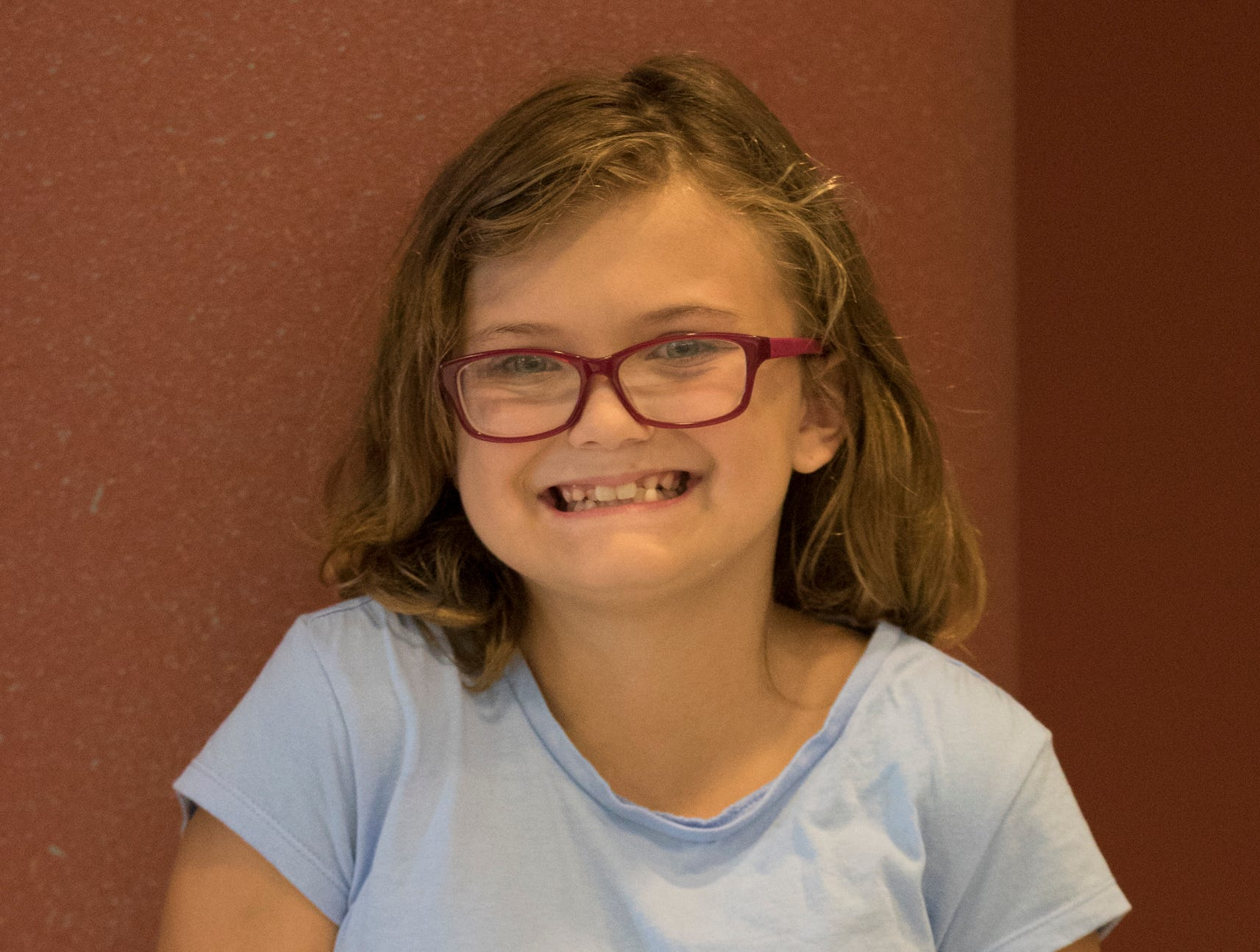 Madison Speakman, 11, Panther Power. Project: Pocket Pets