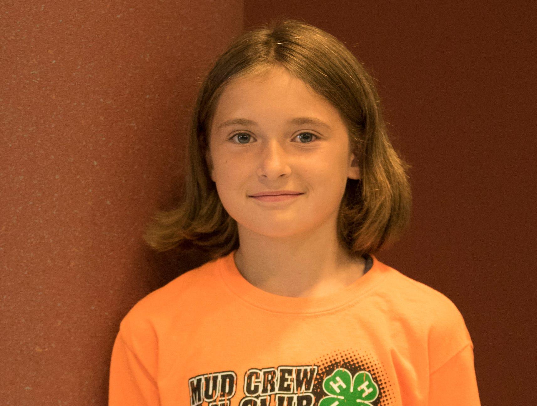 Rachel Lute, 9, Mud Crew. Project: Ohio Birds