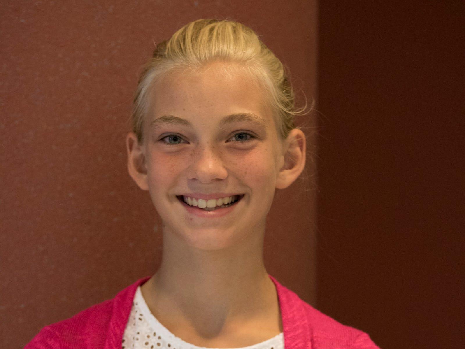 Rylee Elliott, 11, Amazing Country Kids. Project: Laundry