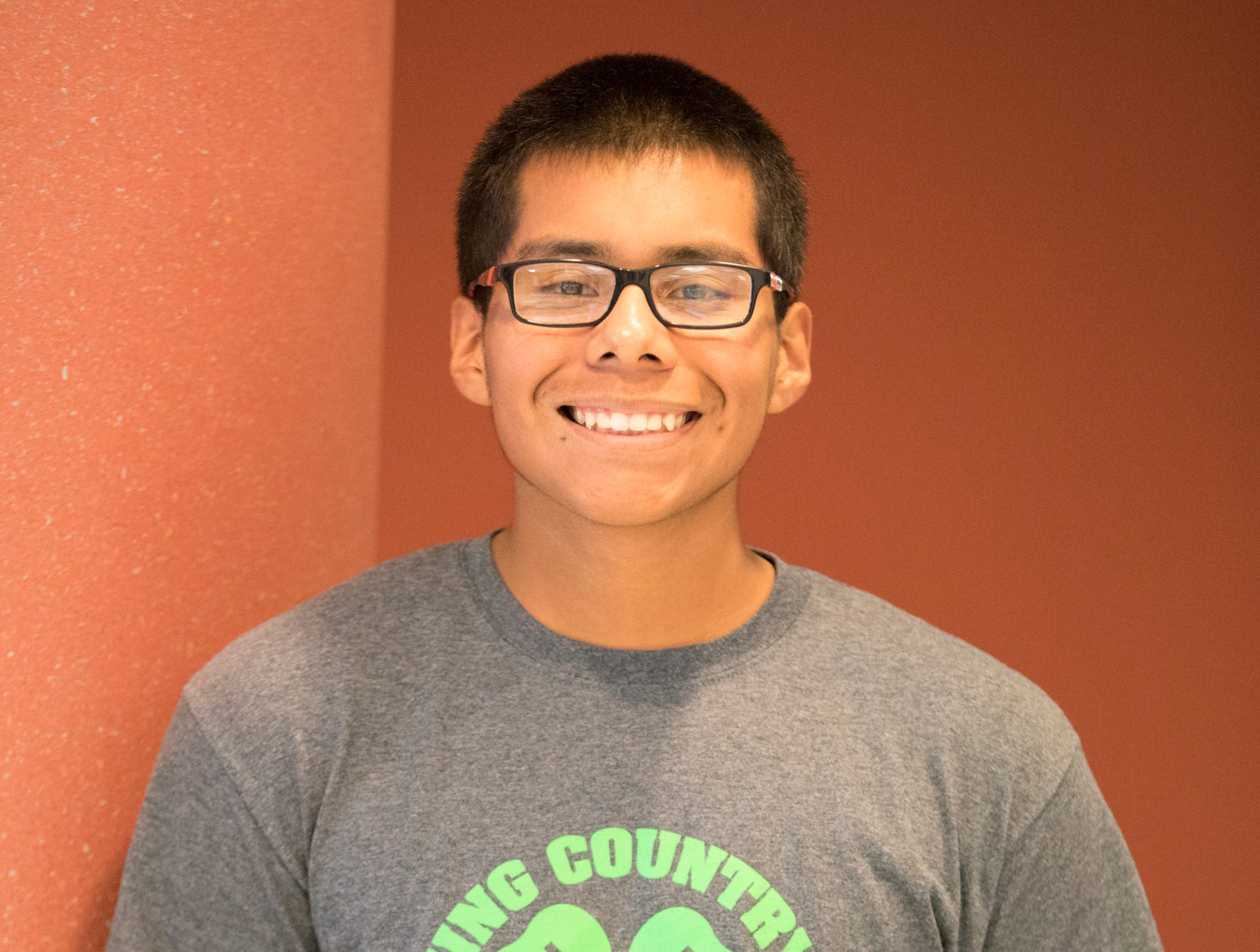 James Shuman, 16, Amazing Country Kids. Project: Entering Electronics